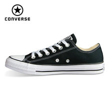 Converse Оригинальные кроссовки all star обувь зажимы Taylor низкая стиль для мужчин и женщин унисекс классические обувь для скейтборда, кроссовки 101001