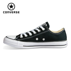 Original Converse all star shoes Chuck Taylor low style men's and women's unisex classic sneakers Skateboarding Shoes 101001