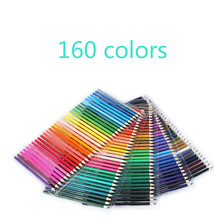 купить Professional 160 Colored Pencils Lapis De Cor Professionals Artist Painting Oil Color Pencil For Drawing Sketch art set Supplies недорого