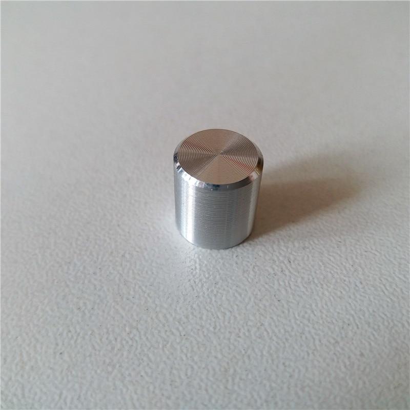 15pcs Aluminum Plastic Cap Potentiometer Knob 9.2*10mm Potentiometer Car Knob Switch Bright Button Cap Light Touch Micro Switch