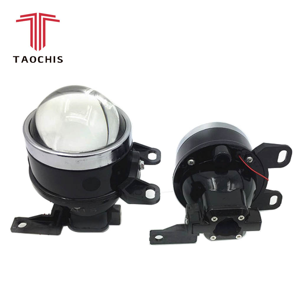 3.0 inch Hi/Lo High Low Beam Fog Lamp Projector Lens For HAVAL H5 H6 Greatwall Bi-Xenon HID H11 fog light Bulbs Foglamp Assembly fog light lens for ford 2 5 full metal bi xenon projector lens auto h11 fog light