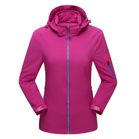 Spring Autumn Ladies Water Resistant Windproof Jacket Women Breathable Outerwear Casual Coat Hoodie Outdoors Chaquetas Mujer