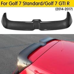 MK7 Carbon Fiber /FRP For Golf MK7 Rear Roof Trunk Wing Spoiler for Volkswagen Golf 7 VII MK 7 GTI R /Golf 7 Standard 14-17