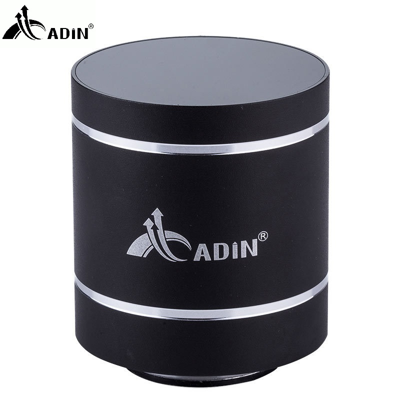 Caliente ! ADIN Metal Bluetooth Speaker 10W Mini Vibration Speaker Mobile Wireless Computer Pequeño Subwoofer Vibración de sonido altavoces
