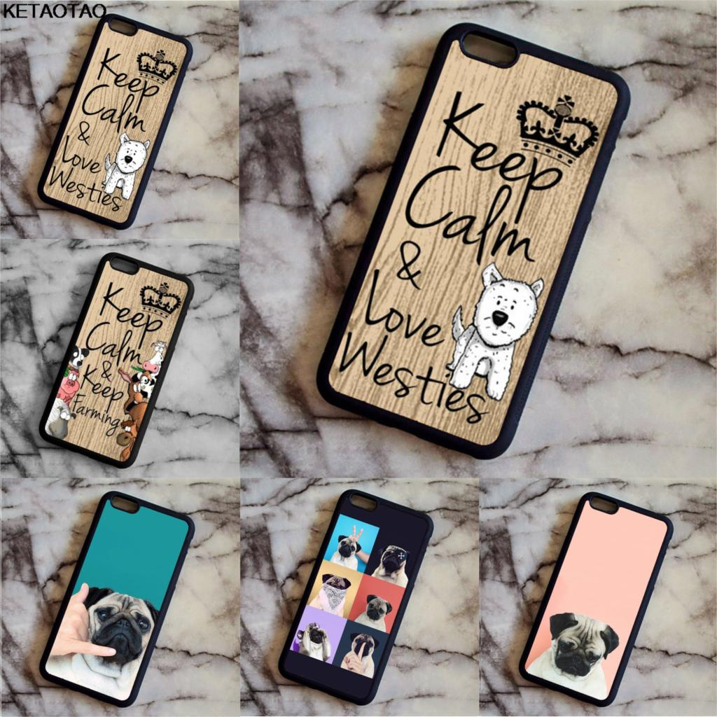 KETAOTAO Rottweiler Dog Pup Puppy Phone Cases for iPhone 4S 5C SE 5 5S 6 6S 7 8 Plus X Case Soft TPU Rubber Silicone