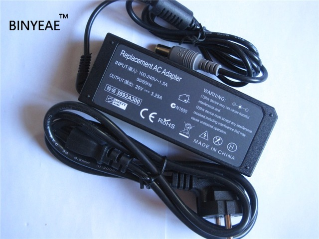 3f65d13ca407 US $14.44 15% OFF|20V 3.25A 65W AC Power Supply Original Adapter Charger  for IBM thinkpad x60 x61 x200 x201 x220 Laptop Free Shipping-in Laptop ...