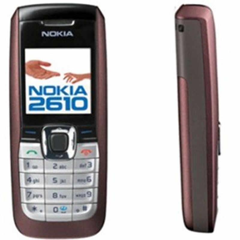 2610 格安オリジナルノキア 2610 ロック解除携帯電話 MP3 GSM 携帯電話良質送料無料ランダムな色