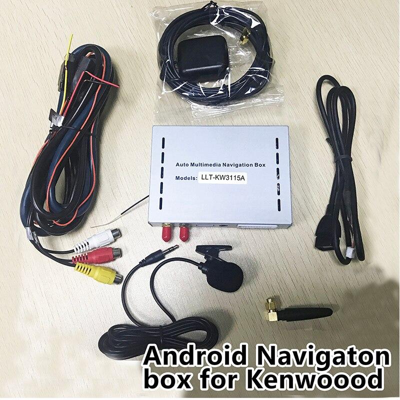 Plug & Play Android 6.0 Speciale di Navigazione Box per Kenwood Applicazioni DDX316 416 616 716 etc supporto Online Mappa WIFI Mirrorlink