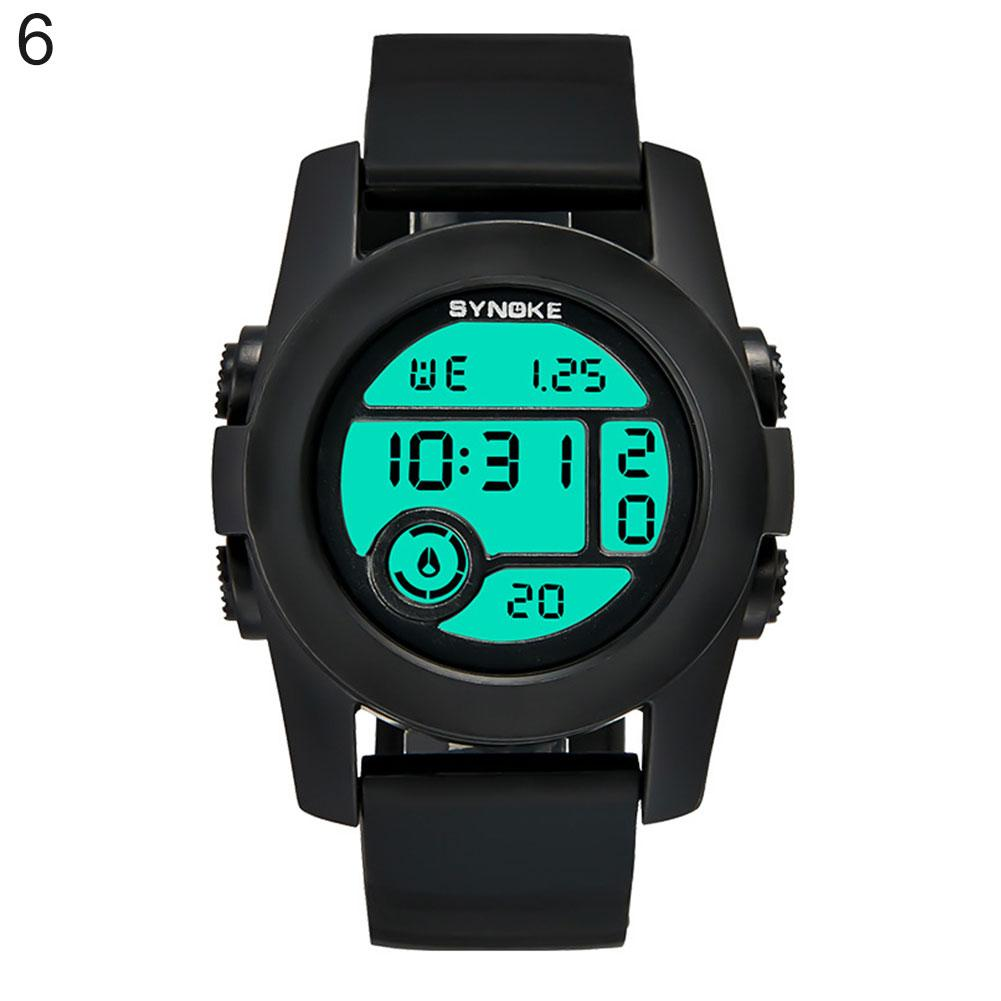 Fresh Color Unisex Waterproof Digital Display Analog Quartz Couple Wrist Watch