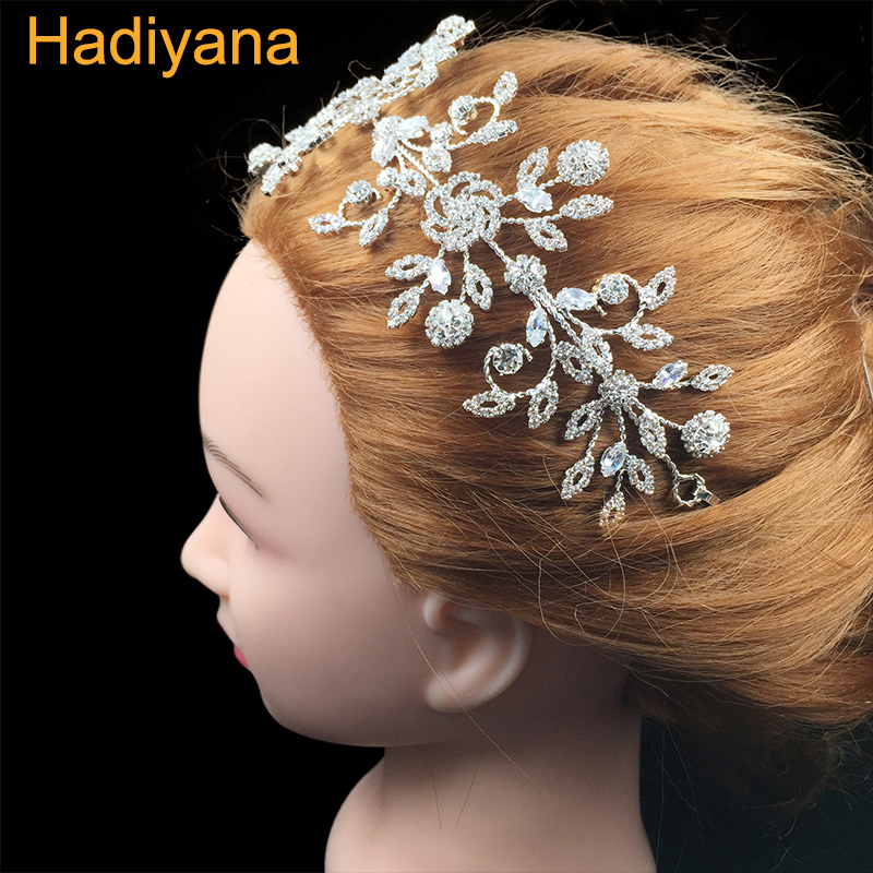 Hadiyana Fashion Princess Hair Headpieces Lovely Leaf Style Wide Hair Band For Girls Party Accessory Boho Headpiece Crown BC4524Hadiyana Fashion Princess Hair Headpieces Lovely Leaf Style Wide Hair Band For Girls Party Accessory Boho Headpiece Crown BC4524