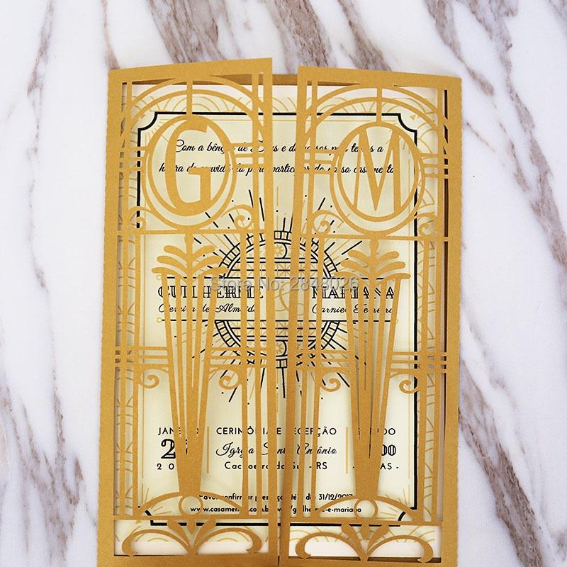 Customized Monogram Golden Lasercut Gate Laser Cut Wedding ...
