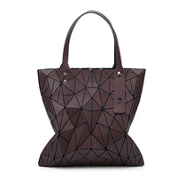 2017 Fashion Bag Women Tote Folding Bag Summer Geometric Hand Bags Bao Bao Handbag Ladies Famous