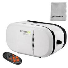 3DวิดีโอความจริงเสมือนVRชุดหูฟังแว่นตาสำหรับโทรศัพท์มือถือ+บลูทูธGamepad TH208