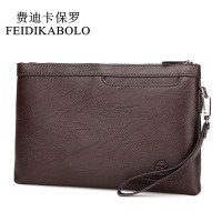 FEIDIKABOLO Famous Brand Men S Clutch Wallets Male Leather Purse Men Wallets Clutch Man Handy Bags