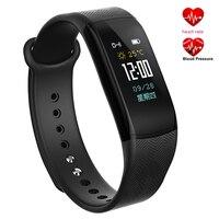 חכם חדש B11 גשש כושר ספורט צמיד Bluetooth שעוני יד Waterproof גברים נשים שעון קצב לב צג לחץ דם