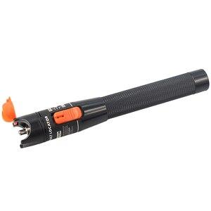 Image 2 - 5 peças/lote ftth vermelho caneta laser estilo 10mw luz cabo de fibra óptica testador localizador visual lc/fc/sc/st adaptador optica cabo catv