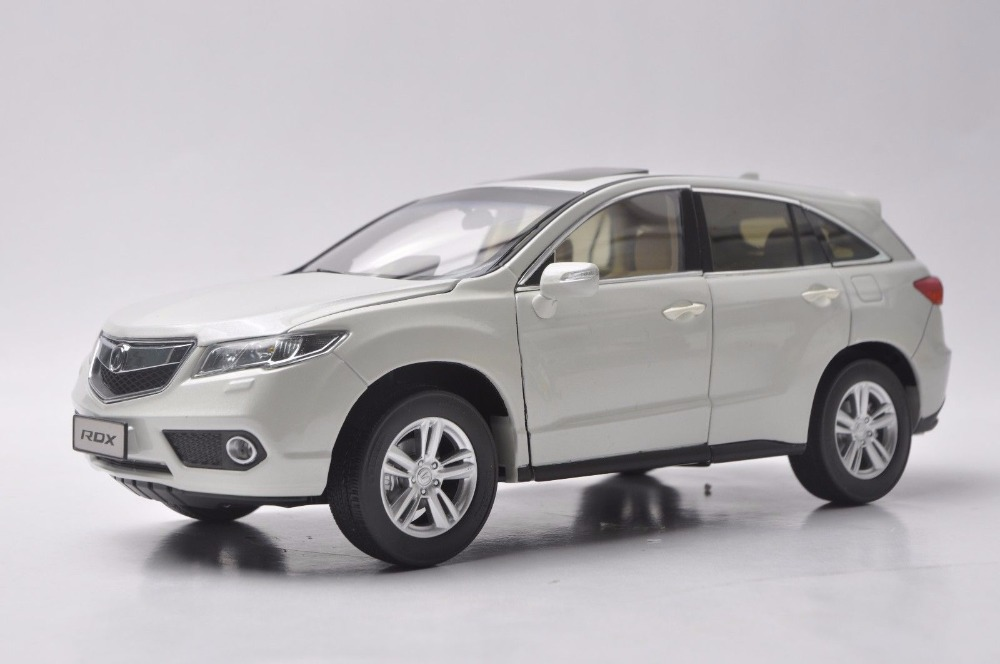 цены 1:18 Diecast Model for Acura RDX White SUV Alloy Toy Car Miniature Collection Gifts