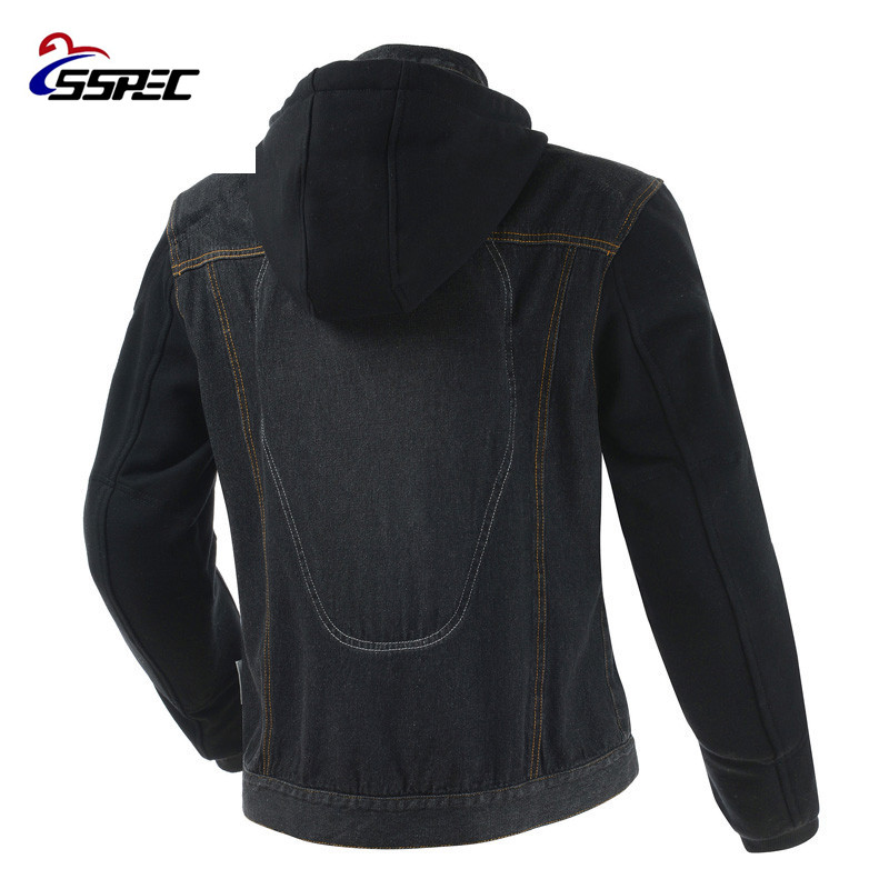 Motorcycle Jacket 2018 Spring Summer Men Denim Jacket Windproof Moto Motorbike Jean Jackets Chaquetas Outerwear With Protectors-in Jackets from Automobiles & Motorcycles    3
