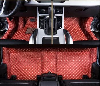 High quality! Custom special car floor mats for BMW 5 Series 2019 waterproof durable carpets for 535i 2018,Free shipping