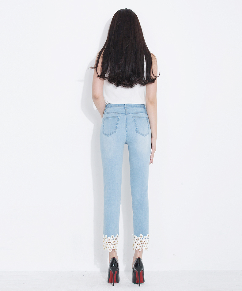 KSTUN jeans woman high waisted stretch straight slim fit jeans vintage push up sexy ladies jean femme 2018 denim pants plus size 15