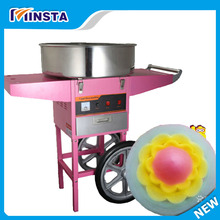 Free shipping Electric cotton candy machine floss maker pink color cotton floss machine