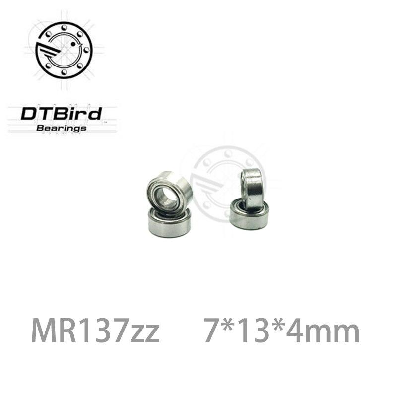 ABEC-5 10pcs MR137zz 7*13*4mm L-1370ZZ mr137 zz deep groove ball bearing 7x13x4 mm miniature bearing high quality gcr15 6326 zz or 6326 2rs 130x280x58mm high precision deep groove ball bearings abec 1 p0