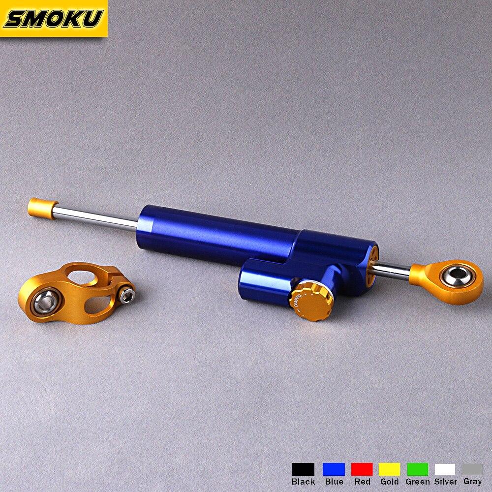 HYPERPRO Универсальный Стабилизатор линейный CSC рулевой демпфер бар для Kawasaki Yamaha Honda Ducati BMW Suzuki