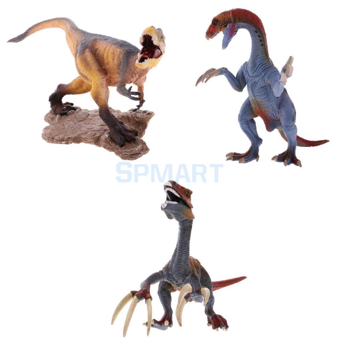 Plastic Dinosaur Figure Model Action Figures Toys Yu Wang Dinosaur+Standing Therizinosaurus+Attacking Therizinosaurus 12pcs lot dinosaur toy set plastic dinosaur world play toys dinosaur model action