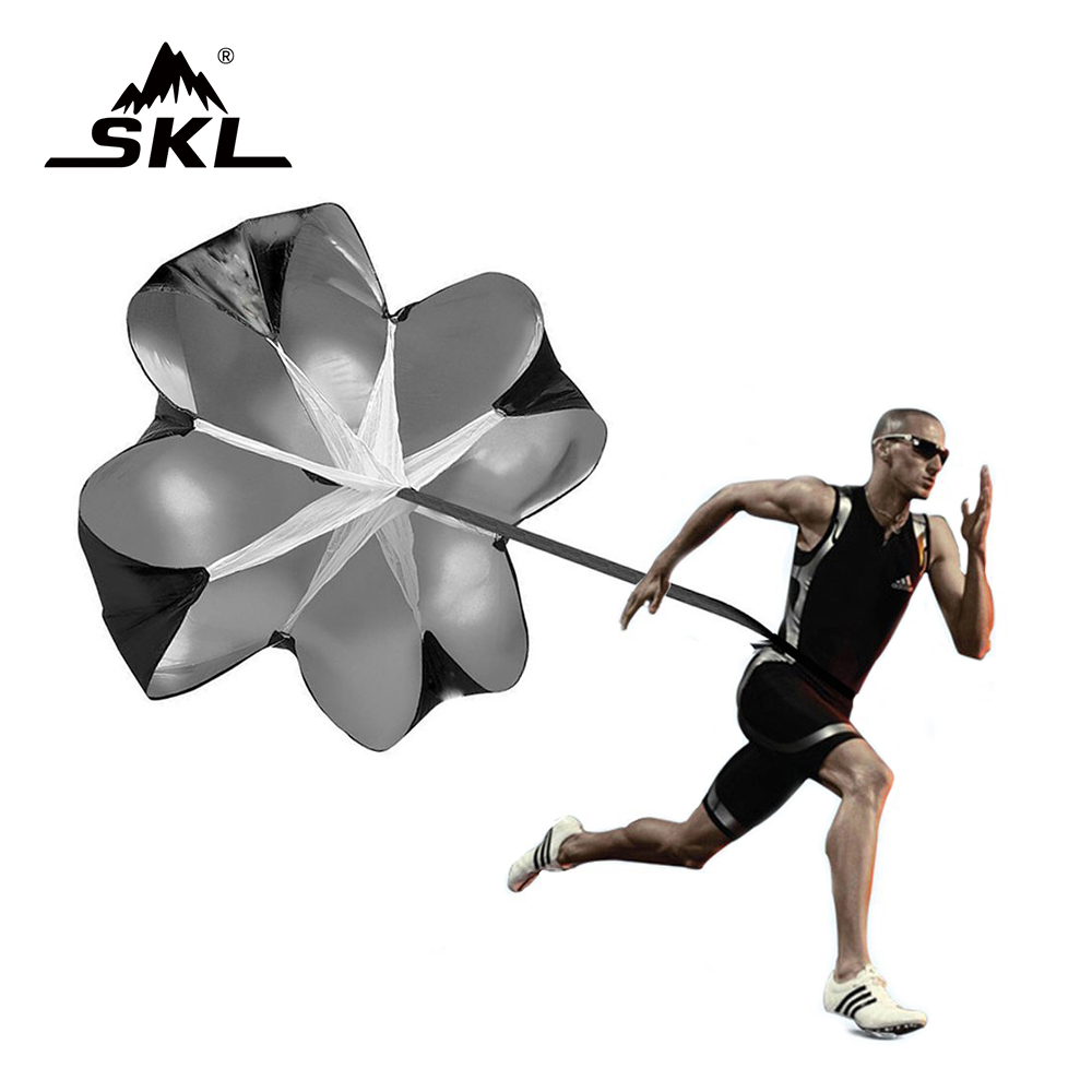 SKL Light and Strong Running Umbrella 56'' Speed Training Resistance Parachute Umbrella Running for Improving Speed, Strength