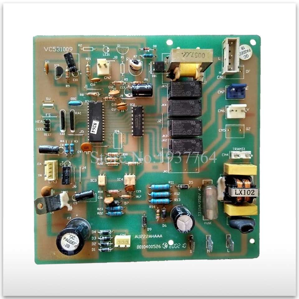 95% new for Air conditioning computer board circuit board KFR-60GW/F 0010400526 VC531009 good working 95% new for air conditioning computer board circuit board kfr 120lw sy sa out check dybh v2 1 good working