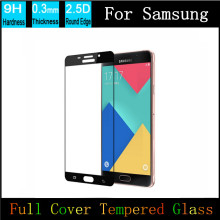 Фотография 2PCS Ultra Thin Tempered Glass For Samsung Galaxy A7 A5 A3 J3 J5 J7 2017 LCD Protective Film Explosion-proof Screen Protector