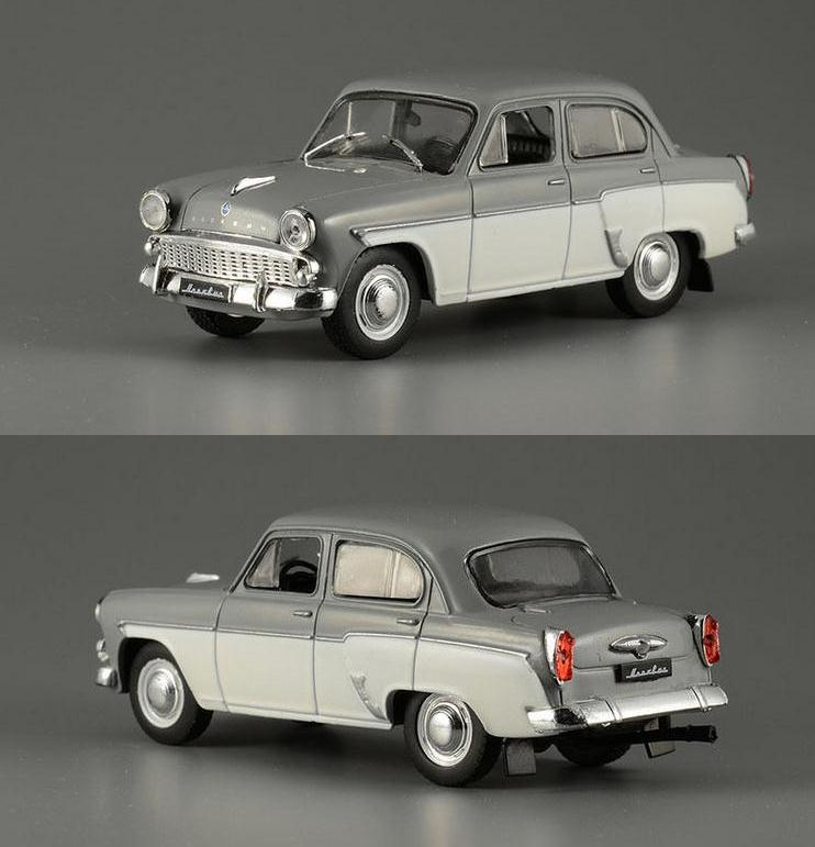 1:43 Alloy Car Model,high Simulation Moskvich 407 Car Toys,metal Castings,quality Collection Model,toy Vehicle,free Shipping