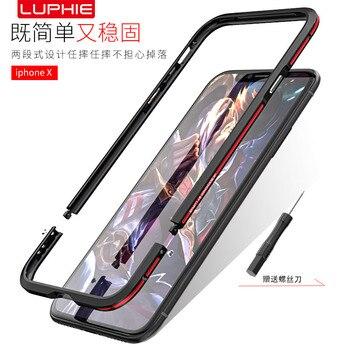 Stoßstange Iphone 6 | Luxus Gebogene Metall Bumper Für Samsung Galaxy Note 9 Fall Anmerkung 8 Für Iphone X Xs Max Xr 8 7 Plus Ultra Dünne Aluminium Rahmen Abdeckung