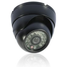 Security 1/3″ Sony Effio CCD 700TVL OSD menu 24 LED indoor Dome camera IR 30m CCTV camera