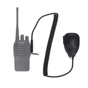 Image 5 - Оригинальная портативная рация Baofeng 888S с микрофоном, портативный ручной микрофон PTT для Baofeng