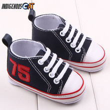 2019 Baby Shoes First Walkers Toddler Infants  Boys Canvas Sneaker Walking