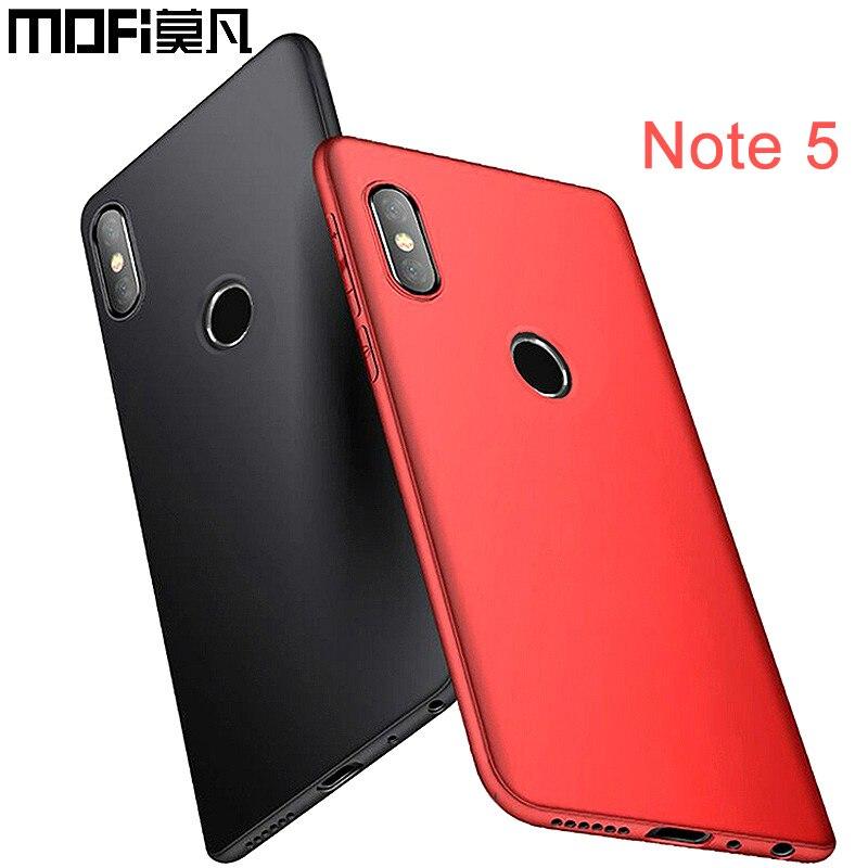 Xiaomi redmi note 5 housse version globale équipée d'origine redmi note 5pro couverture 5.99 fundas pc xiaomi redmi note 5 pro