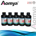 Aomya 5x250ml BK/C/M/Y/White  UV INK / LED UV INK /  For Epson UV INK DX5 DX6 DX7 PrinterHead