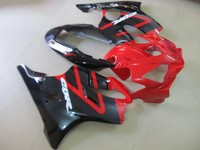 Motorcycle Fairing For w1 CBR600F4i CBR600 CBR 600 F4i 2004 2005 2006 2007 ABS Plastic Injection Molding Bodywork black red