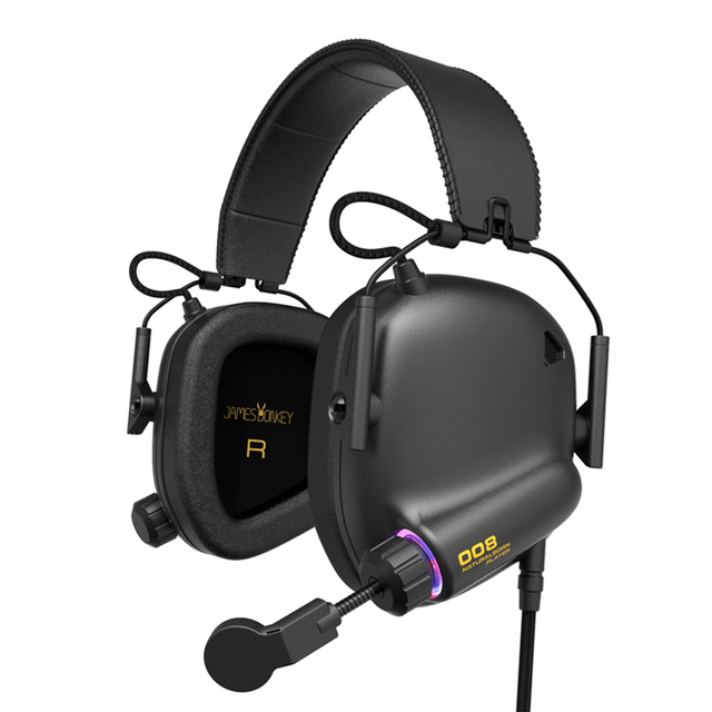 Game Headset Tactical Master - 008 Immersive Gaming Headset with Virtual 7.1 Surround Sound Game Headphones for PC PS4 Earphone 1