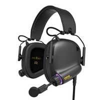 Gioco Auricolare Tattico Master-008 Coinvolgente Gaming Headset con Virtual 7.1 Surround Sound Cuffie di Gioco per PC PS4 Auricolare