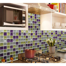 Free Shipping High Quality Hot Sale Mosaic Wall Tile 23x23cm  Window Wallsticker