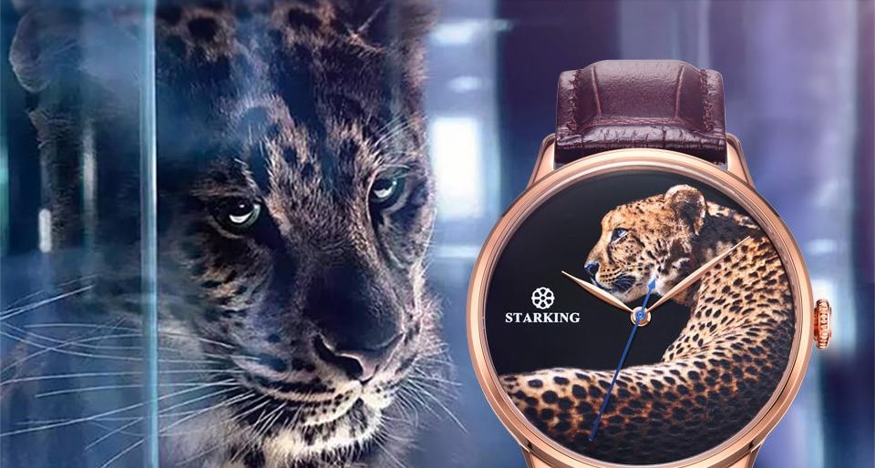 Starking nova chegada moda masculina relógio automático