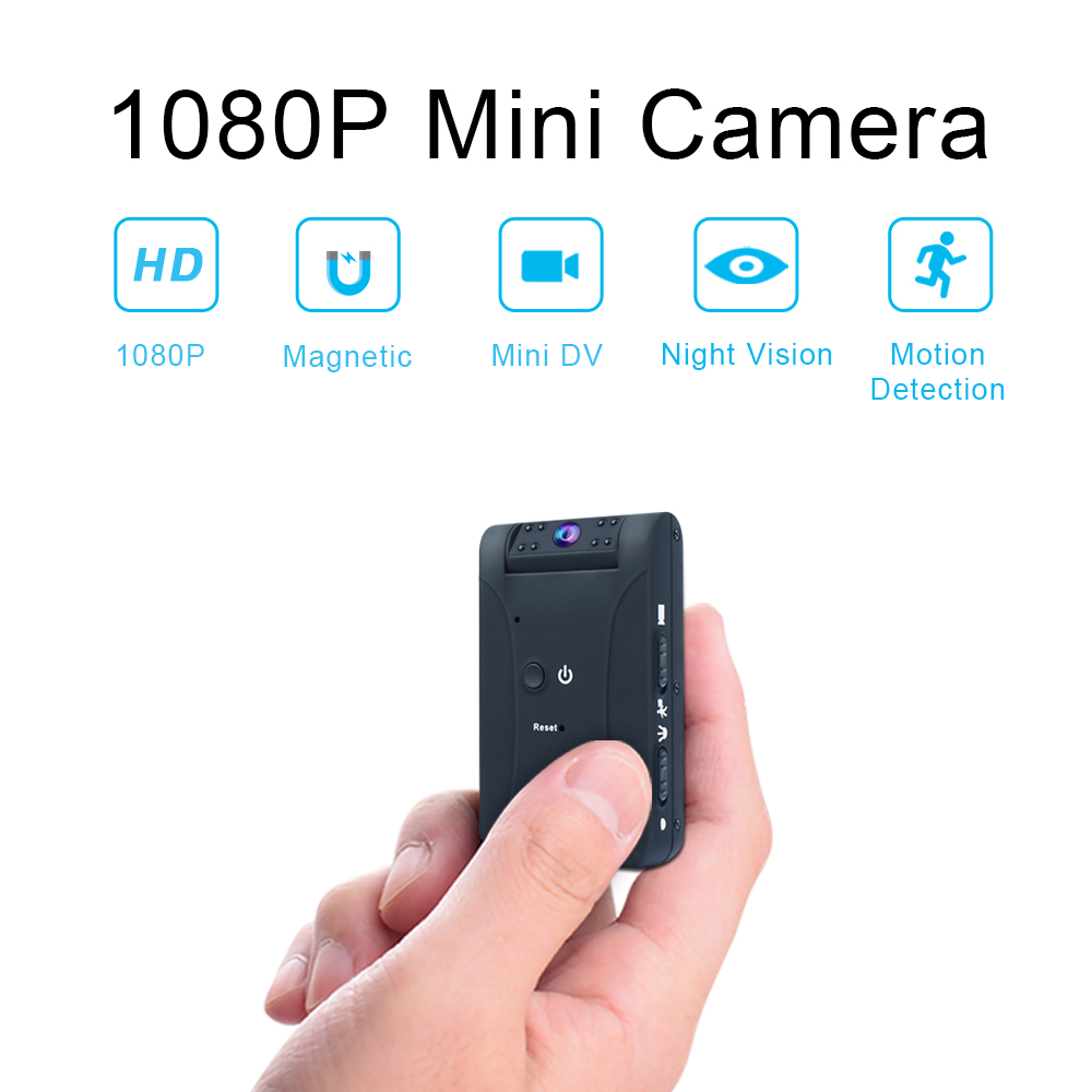 Working 8 Hours HD1080P Mini Camera Sport DV Portable Camcorder With Hidden Night Vision Motion Detection Small Security Camera