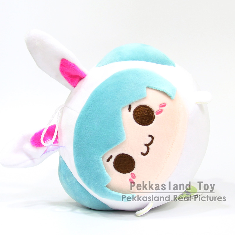 Anime Hatsune Miku Plush Toy Soft Pillow For Kids Child Juguetes Party Christmas Gifts  24cm 2 Colors