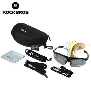 Polarized Cycling Sunglasses 5 Lens  5