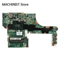 Оригинальный Для HP Probook 450 G3 470 G3 ноутбук материнская плата I5 6200U 901232 001 837796 001 аккумулятор большой емкости DA0X63MB6H1