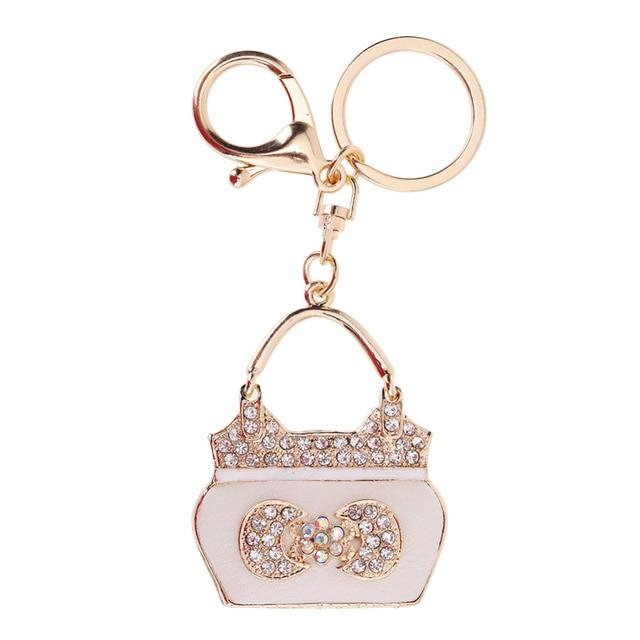 Keychain Cute Small Bag Pendant Purse Car Buckle Key Chains Keyrings Girls  Keyholder Key Ring Accessories b5f52c665637