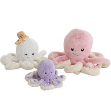 18cm Creative Cute Octopus Plush Toys Octopus Whale Dolls Stuffed Toys Plush Small Pendant Sea Animal Toys Children Baby Gifts(China)