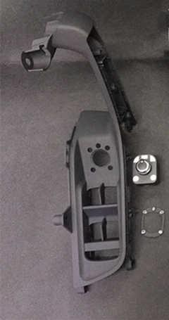 Pour Audi A3 8V installer électrique panneau de commutateur de rétroviseur pliant 8V4 959 521 B + 8VD 959 565 E